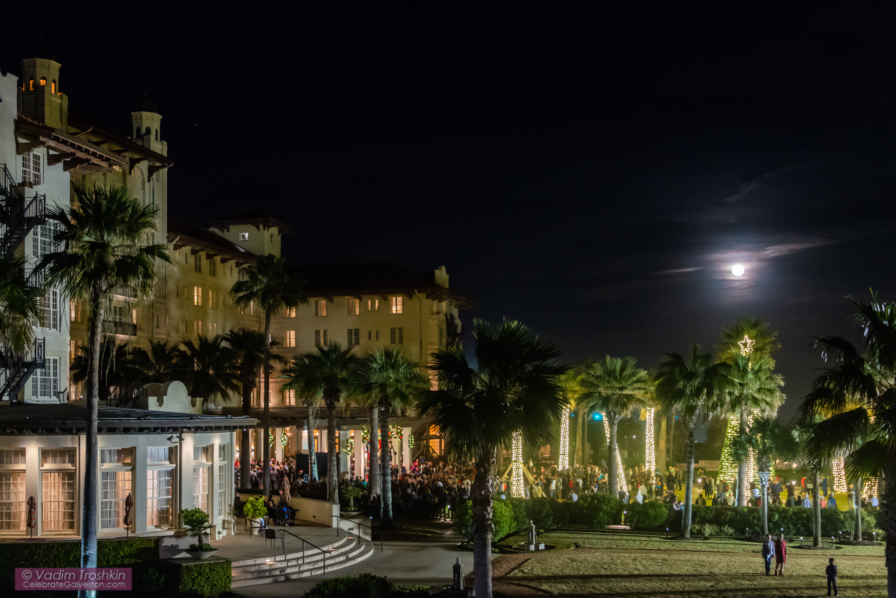 Galveston Holiday Lighting Celebration